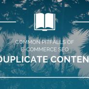Common Pitfalls of E-Commerce SEO: Duplicate Content