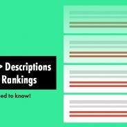 Does The Meta Description Tag Affect SEO & Search Engine Rankings?