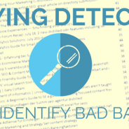 Playing detective: how to identify bad backlinks