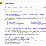 Is it important for SEO to rank first in 2018?