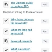 Related posts in WordPress: make sure to suggest the best