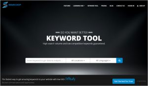SEMScoop Keyword Tool and How It Will Help You in Your Keyword Research